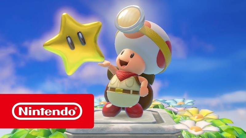 Captain Toad: Treasure Tracker — обзорный трейлер (Nintendo Switch и Nintendo 3DS)