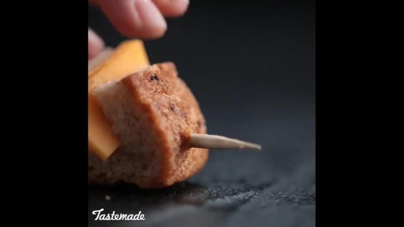 Сыр-это вкусно, а сырхлебгриль - это втройне вкусно 😍👌