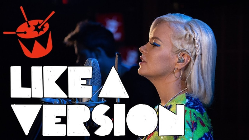 Lily Allen covers Lykke Li 'deep end' for Like A Version