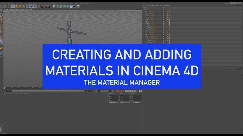 CINEMA 4D Back to Basics Creating Materials