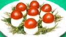 Закуска из фаршированных яиц Грибочки-боровички