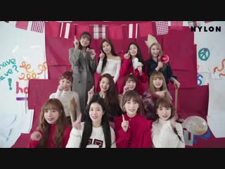 ‹ Making: 181113 IZONE for NYLON Magazine ›