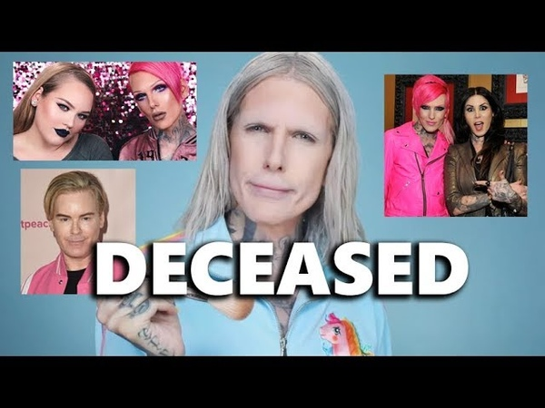 Jeffree star ending careers and dragging makeup brands for 5 minutes straight