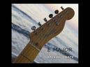 E Major Funny Funk Style Guitar Backing Track
