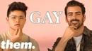 Nyle DiMarco Chella Man Teach Us Queer Sign Language   them.