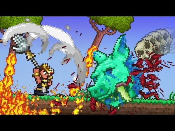If Terraria Useless Weapons were Overpowered