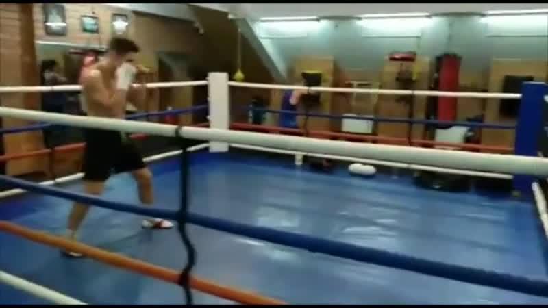 Никита Кузнецов, боксер команды «Рать»