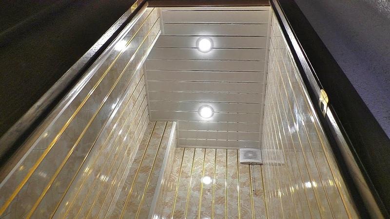 Насколько прочны пластиковые панели за 200 рублей Проверка панелей ПВХ на прочность весом в 100 кг Ремонт и Отделка