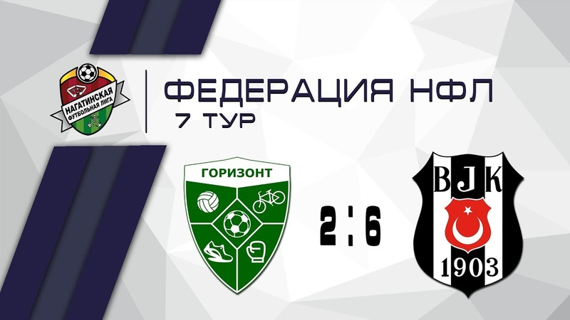 Горизонт 2-6 Фк Бешикташ Москва   Федерация НФЛ 7 тур   Обзор матча