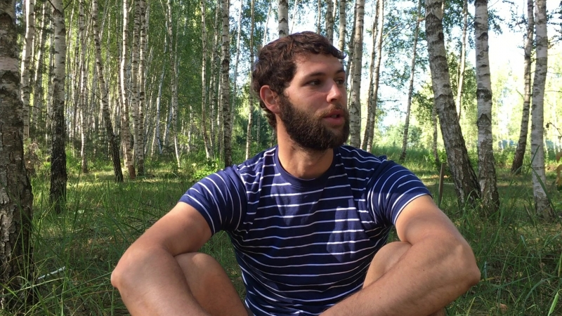 Отзыв добровольца Владимира, участвующего в строительстве фестиваля