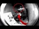 Objeto EXTRATERRESTRE escaneando dentro de una casa es captado en video
