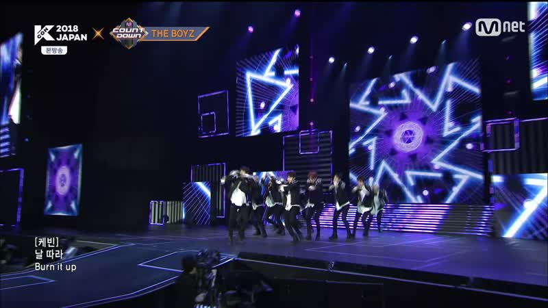 180419 Mnet 엠카운트다운 KCON 2018 JAPAN 더보이즈 Giddy Up -세터