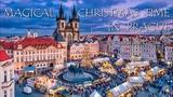 Magical Christmas Time in Prague, Czechia - Timelapse Video