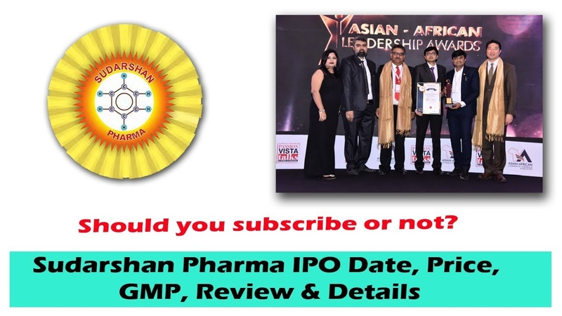 Sudarshan Pharma IPO Date, Price, GMP, Review Details.