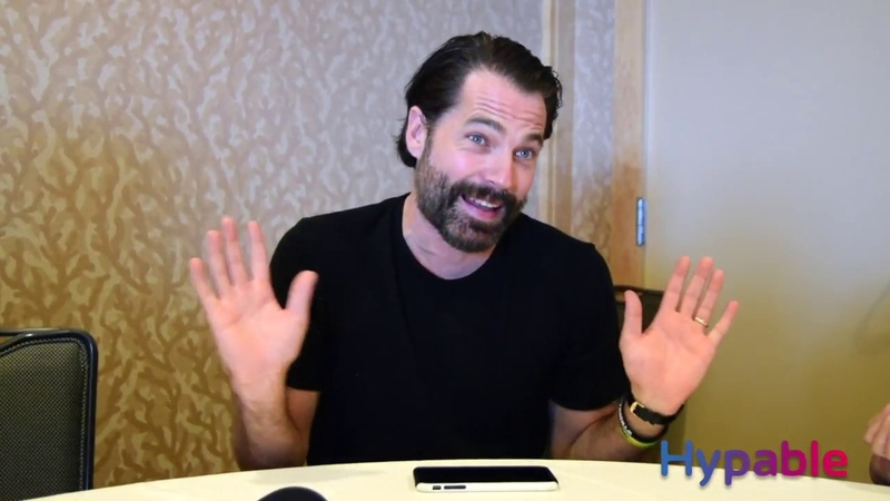 Wynonna Earp at SDCC 2018: Tim Rozon interview