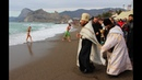 Крещение Господне Крестный ход и купание в море Город Судак 2019 год