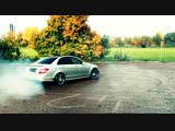 Mercedes C63 AMG Drive in the City Kickdown Acceleration Onboard V8 Sound Beschl_HIGH.mp4