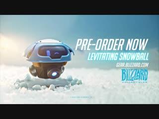 Доступно к покупке — Magnetic Levitating Snowball