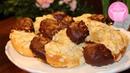 Mandel-Marzipan-Hörnchen ♡ Super lecker mit ganz wenigen Zutaten ♡