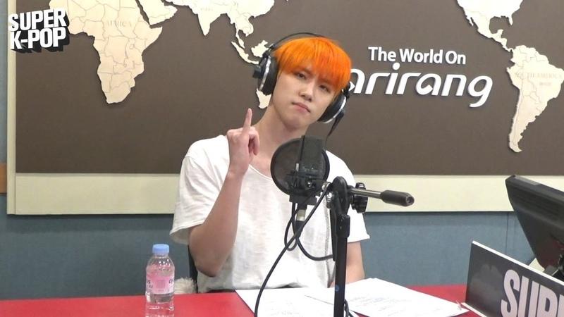 [Super K-Pop] 김동한 (KIM DONG HAN)s Singin Live Good Night Kiss