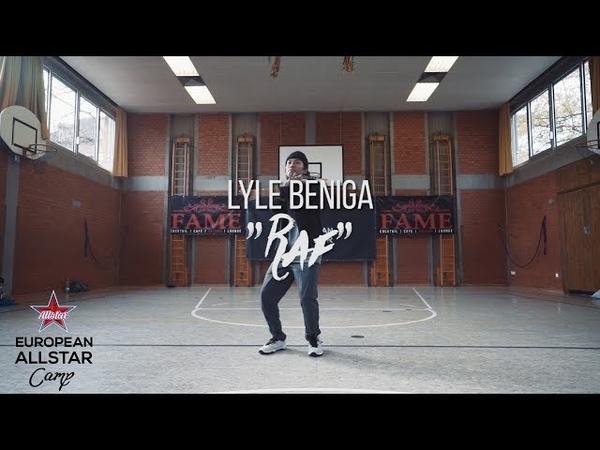 ASAP RAF Choreography by Lyle Beniga EAC17