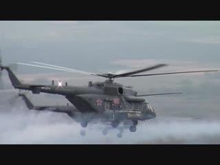 Стрельбы вертолетчиков ЮВО