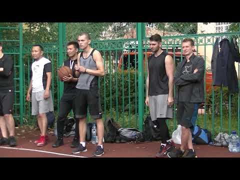 Открытие турнира Streetball vs terrorism