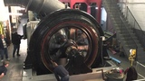 Initial Start Up Testing of 1915 Vintage 750 HP Wound Rotor Motor after Rewinding the Rotor &amp Stator