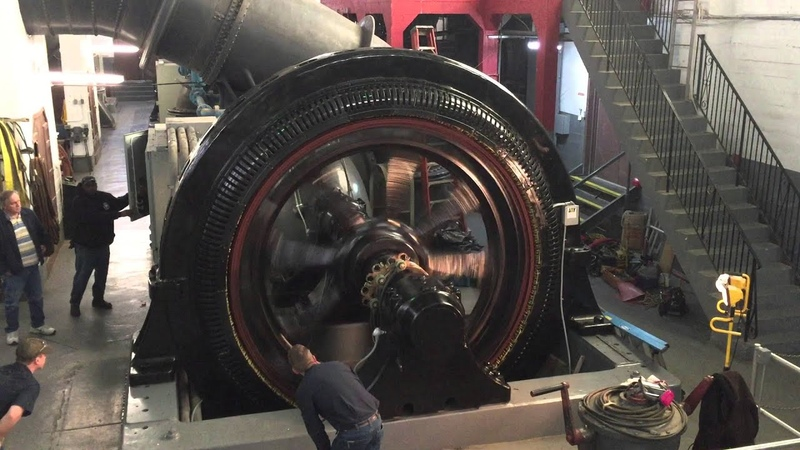 Initial Start Up Testing of 1915 Vintage 750 HP Wound Rotor Motor after Rewinding the Rotor Stator