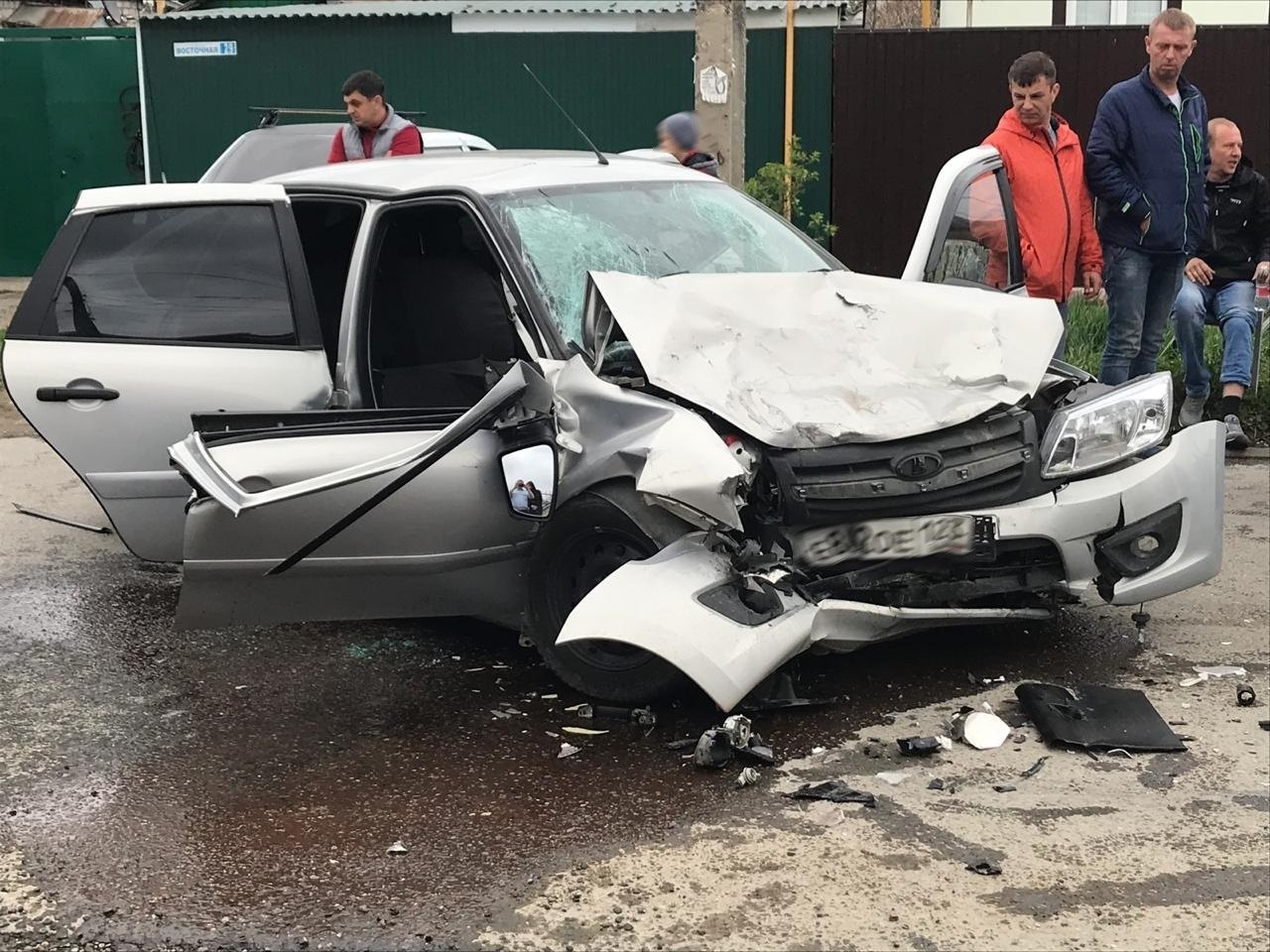 Водитель из Кызыл-Октября попал в серьезное ДТП