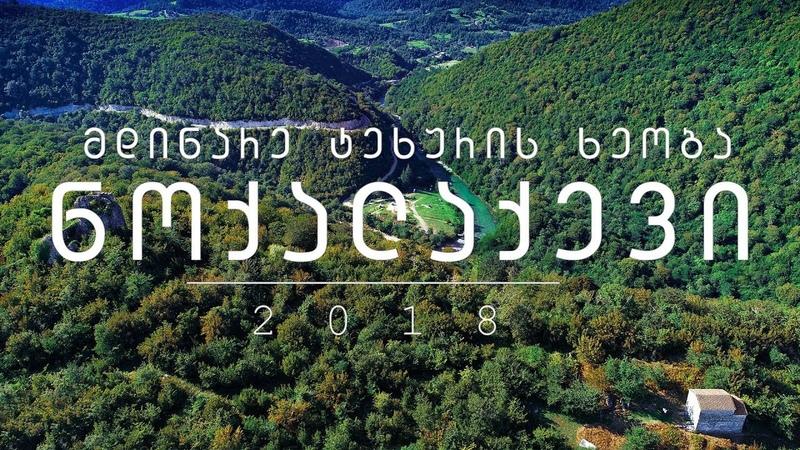 მდინარე ტეხურის ხეობა ნოქალაქევში | RIVER TEKHURI RAVINE IN NOKALAKEVI (4K)