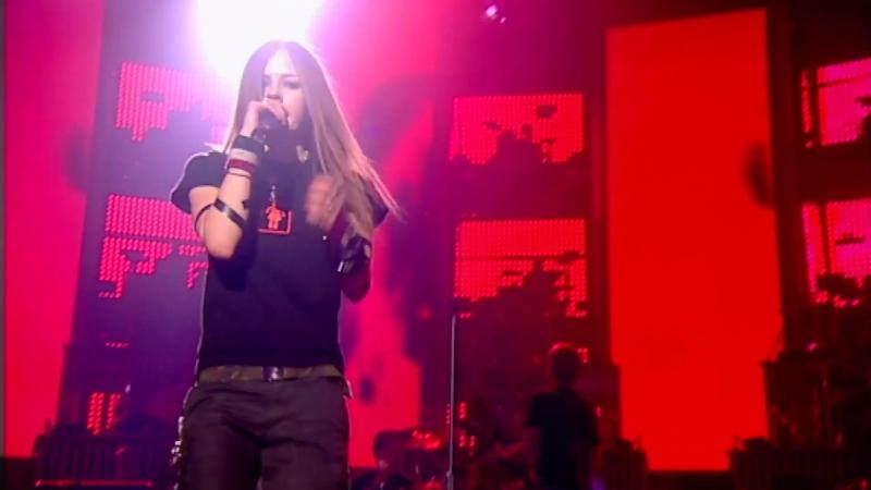 Avril Lavigne Sk8er Boi BRIT Awards 2003