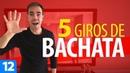 5 GIROS DIFERENTES de BACHATA Cómo Bailar Bachata Bachata para Principiantes 12