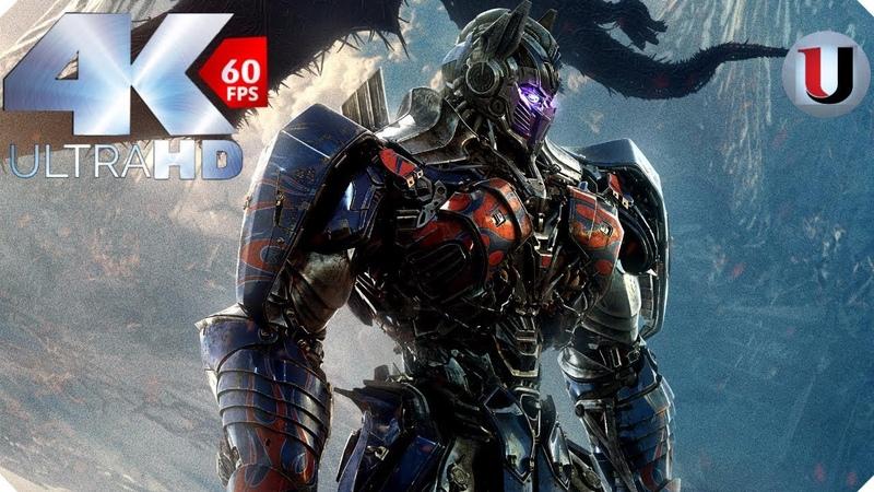 Transformers 5 The Last Knight Final Battle Autobots vs Decepticons Quintessa 4K