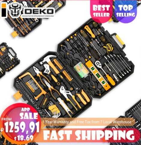 DEKO набор инструментов от 1263 руб. ▶Заказать можно тут: