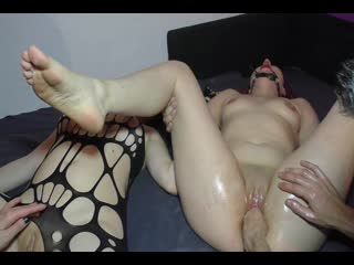 Intense fist fucking orgasms [фистинг, fisting, extreme pussy insertion, gape, домашнее порно]