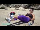 Круговая тренировка Бутылочка /Water bottles Beach workout
