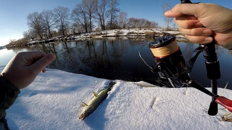 ДЖИГ РИГ ЛОМАЕТ СТЕРЕОТИПЫ Ловля щуки зимой на малой реке 2019 Ловля щуки на джиг риг jig rig