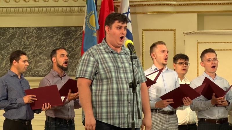 «CANTUS DOMINI» Male Choir (Bucharest, Romania), artistic director – Ştefan Răzvan-Constantin
