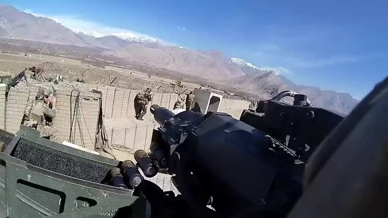 Военные действия Американцы в афганистане