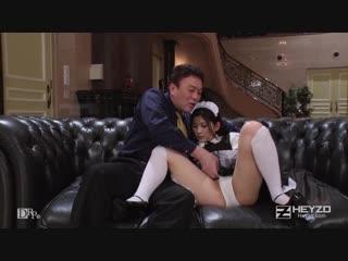 Молоденькая горничная японка шалит |азиатка|секс с|в чулках|asian|japanese|girl|teen|maid|cosplay|porn|heyzo 0932 anna kimijima