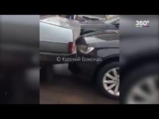 Авария с участием БТР