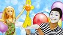 Spielspaß mit Barbie - Was ist mit dem Clown los Puppenvideo