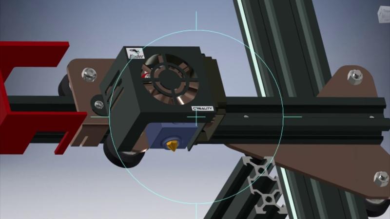Правильная Модернизация 3д принтера Ender 3 Creality, Настройка механики и Качества Печати YouTube