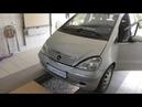 Mercedes A klasse АКПП уходит в аварию спорадически