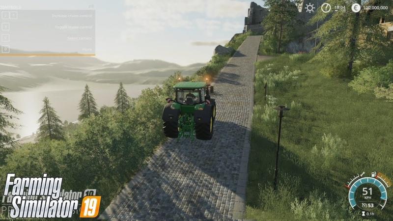 LS19 Gamescom - Rundfahrt über die LS19 Map mit dem John Deere 8400R