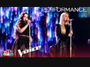 Kelly Clarkson & Chevel Shepherd - Rockin with the Rhythm of the Rain (The Voice 2018 Live Finale)