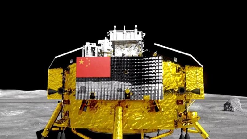 Китайский лунный зонд Chang'e 4 обзор Лунной программы в видеографике