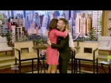 Nina Dobrev and Maria Menounos Prank Each Other on Live.