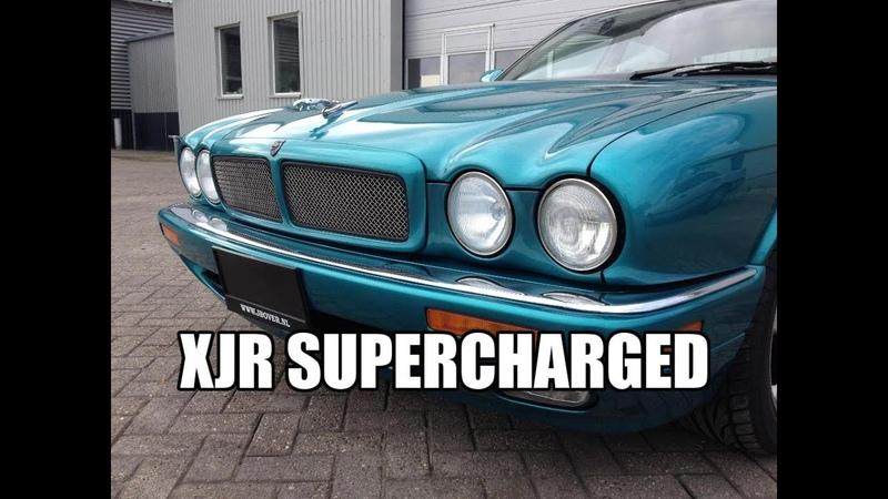 Jaguar XJR 1996 4.0 Supercharged Review TestDrive JMSpeedshop !